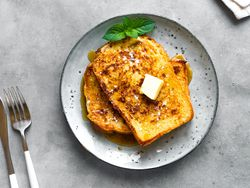 'French toasts' con caramelo