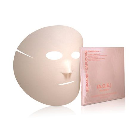 Mascarilla de efecto flash