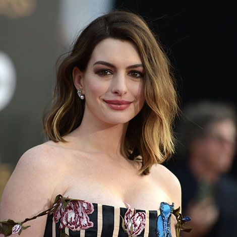 Anne Hathaway, con mechas californianas