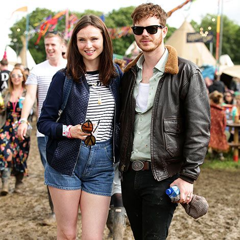 Sophie Ellis Bextor y Richard Jones