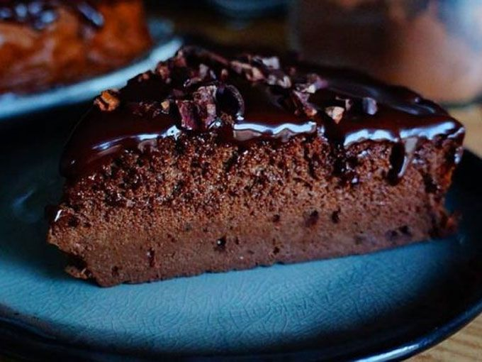 Cheesecake de chocolate sin gluten
